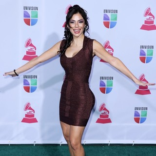 Mariann Gavelo in 13th Annual Latin Grammy Awards - Arrivals