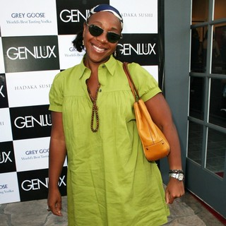 Marianne Jean-Baptiste in Genlux Magazine Introduces: An Evening with Artist Mark Baptist - Arrivals