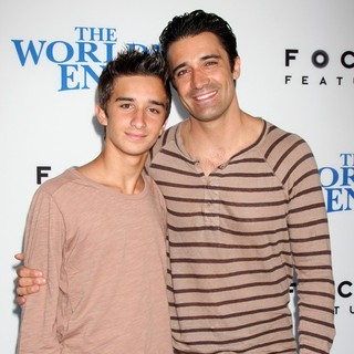 George Marini, Gilles Marini in The World's End Hollywood Premiere