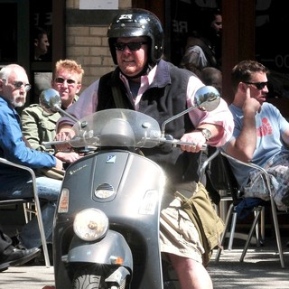 Mario Batali in Mario Batali Takes A Ride Through The City in The Sunshine