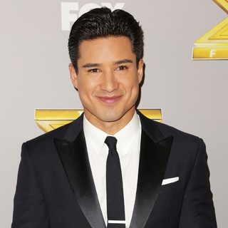 Mario Lopez in The X Factor Season 3 Finale - Arrivals