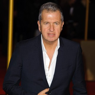 Mario Testino in Les Miserables World Premiere - Arrivals