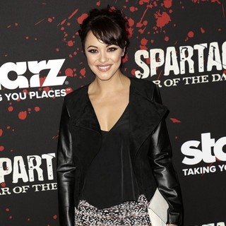 Marisa Ramirez in U.S. Premiere Screening of Spartacus: War of the Damned
