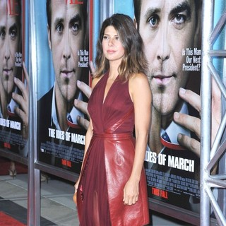 Marisa Tomei in The Premiere of The Ides of March - Arrivals