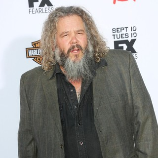Mark Boone Junior in Premiere of FX's Sons of Anarchy Season Six - Arrivals