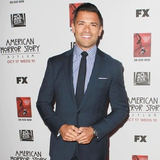 Mark Consuelos in Premiere Screening of FX's American Horror Story: Asylum