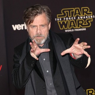 Mark Hamill in Premiere of Star Wars: The Force Awakens