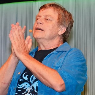 Mark Hamill in Star Wars Celebration
