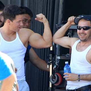 Mark Wahlberg in Films A Chase Scene for The Movie Pain and Gain