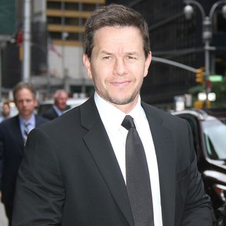 Mark Wahlberg in The Late Show with David Letterman - Arrivals