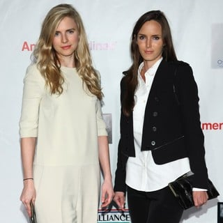 Brit Marling, Morgan Marling in US-Ireland Alliance Oscar Wilde Pre-Academy Awards Event