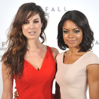 Berenice Marlohe, Naomie Harris in The 23rd James Bond Movie Photocall