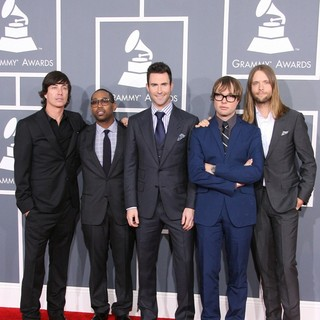 Maroon 5 in 54th Annual GRAMMY Awards - Arrivals
