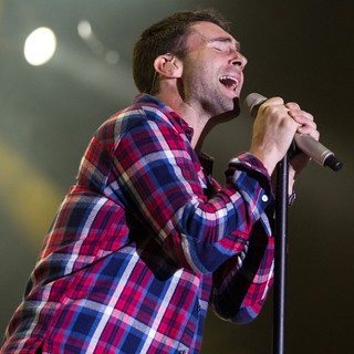 Adam Levine, Maroon 5 in Maroon 5 Rock in Rio Lisboa at Parque da Bela Vista - Day 3