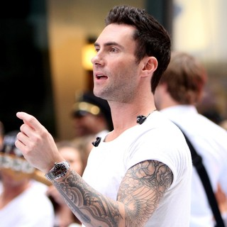 Adam Levine in Maroon 5 Perform Live as Part of The Today' Show's Concert Series - maroon-5-perform-live-today-show-13