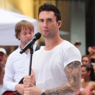Michael Madden, Adam Levine, Maroon 5 in Maroon 5 Perform Live as Part of The Today' Show's Concert Series