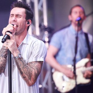 Maroon 5 at The Today Show Toyota Concert Series