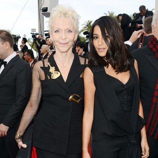 Tonie Marshall, Leila Bekhti in Rust and Bone Premiere - During The 65th Annual Cannes Film Festival
