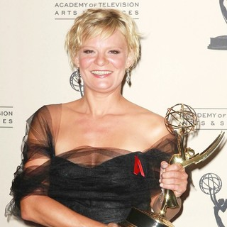 Martha Plimpton in 2012 Creative Arts Emmy Awards - Press Room
