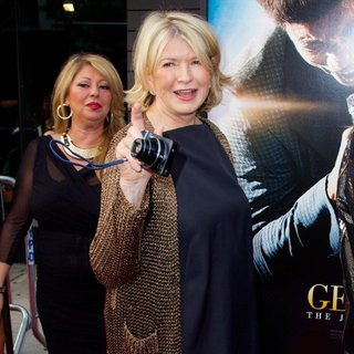 Martha Stewart in New York Premiere of Get on Up - Red Carpet Arrivals