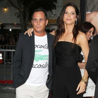 Jonathon Komack Martin, Sandra Bullock in The Change-Up Los Angeles Premiere