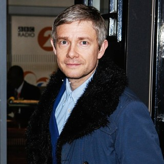 Martin Freeman in Martin Freeman at BBC Radio 2 Studios