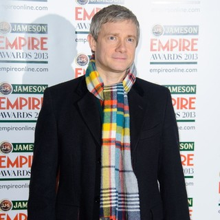 Martin Freeman in Jameson Empire Film Awards 2013 - Arrivals - martin-freeman-jameson-empire-film-awards-2013-04