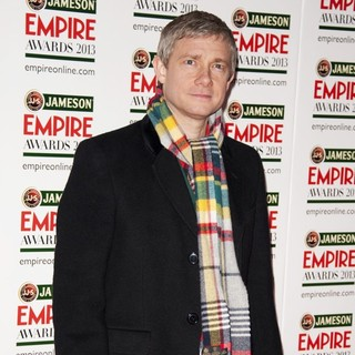 Martin Freeman in Jameson Empire Film Awards 2013 - Arrivals - martin-freeman-jameson-empire-film-awards-2013-05