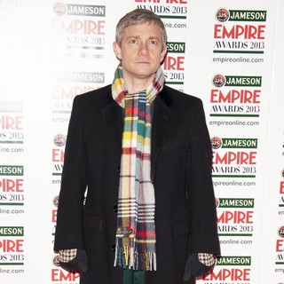 Martin Freeman in Jameson Empire Film Awards 2013 - Arrivals - martin-freeman-jameson-empire-film-awards-2013-06