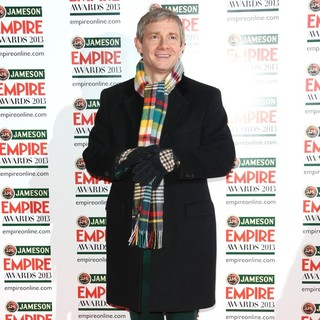 Martin Freeman in Jameson Empire Film Awards 2013 - Arrivals