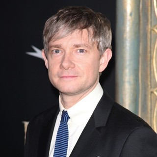 Martin Freeman in Premiere of The Hobbit: An Unexpected Journey