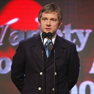 Martin Freeman in Variety Club Showbiz Awards
