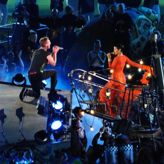 Chris Martin, Rihanna in Closing Ceremony for The Paralympics 2012