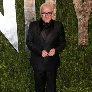 Martin Scorsese in 2012 Vanity Fair Oscar Party - Arrivals