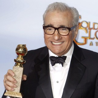 Martin Scorsese in The 69th Annual Golden Globe Awards - Press Room