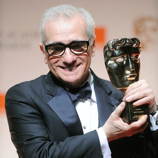 Martin Scorsese in Orange British Academy Film Awards 2012 - Press Room