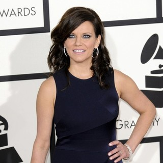 Martina McBride in The 56th Annual GRAMMY Awards - Arrivals