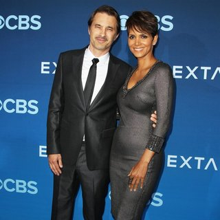 Olivier Martinez, Halle Berry in CBS Television Presents Extant Premiere Party