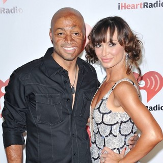 J.R. Martinez, Karina Smirnoff in iHeartRadio Music Festival - Day 2