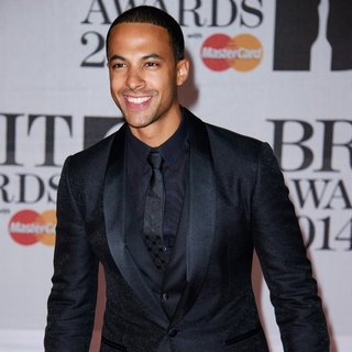 Marvin Humes in The Brit Awards 2014 - Arrivals