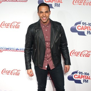 Marvin Humes in The Capital FM Jingle Bell Ball 2013 - Day 2 - Arrivals