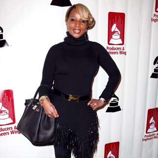 Mary J. Blige in The 54th Annual GRAMMY Awards - P and E Wing Event