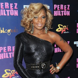 Mary J. Blige in Opensky Presents Perez Hilton's One Night in New York City
