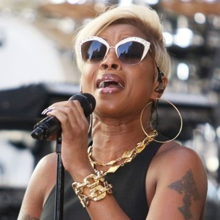 Mary J. Blige in Mary J. Blige Performs Live on The Today Show