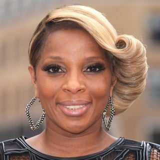 Mary J. Blige in The UK Premiere of Rock of Ages