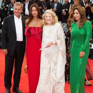 Marta Marzotto, Marta Brivio Sforza in 72nd Venice Film Festival - Everest - Premiere