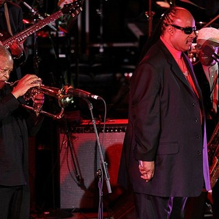 Hugh Masekela, Stevie Wonder, Jimmy Heath in International Jazz Day Sunset Concert