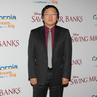 Masi Oka in Saving Mr. Banks Los Angeles Premiere