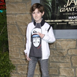 Mason Cook in Premiere of Jack the Giant Slayer