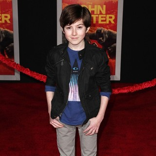 Mason Cook in Premiere of Walt Disney Pictures' John Carter